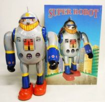 Robot - Mechanical Walking Tin Robot - Super Robot  X-25 (Q.S.H.)