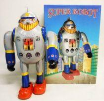 Robot - Mechanical Walking Tin Robot - Super Robot  X-25 (Q.S.H.)