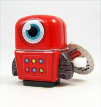 Robot - Mini Robot Wind-Up en Tôle (rouge) - Schylling