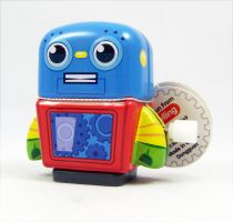Robot - Mini Tin Toy Robot Wind-Up (blue) - Schylling