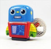 Robot - Mini Tin Toy Robot Wind-Up (blue) - Schylling