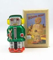 Robot - Mini Wind-Up en Tôle - Zoomer Robot 01