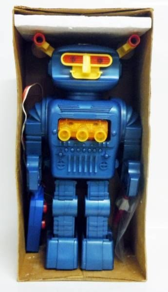Robot - Remote Control Battery Operated Walking Robot - Space Commander Robot