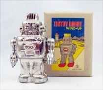 Robot - Robot Marcheur Mécanique en Tôle (étincelant) Yonezawa