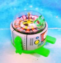Robot - Rolling Robot - Roulette Robot (green)