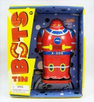 Robot - Wind-Up en Tôle Tin Bots (X-306) - Schylling