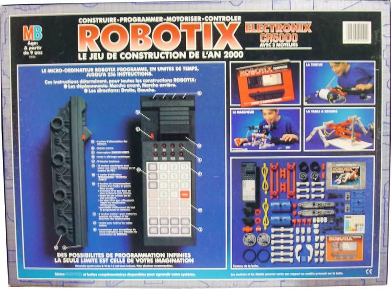 Séquence émotion : jeux éducatifs vintage Robotix---electronix-cr5000-avec-2-moteurs---mb-milton-bradley-p-image-305635-grande
