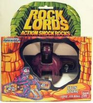 "Rock Lords - Stun Stone ""Action Shock Rocks\"" - Bandai"