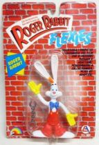 Roger Rabbit - 6\'\' bendable figure LJN 1988 - Mint on card