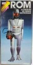 Rom, Space Knight - 12\'\' electronic figure mint in Meccano box