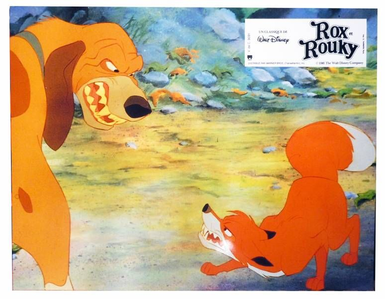 Rox & Rouky - Set of 12 Lobby Cards