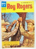 Roy Rogers Vedettes T.V. bi-mensuel n°2 1962 - Sagédition