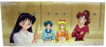 Sailor Moon - Toei Animation Original Celluloid - Rei, Ami, Minako & Makoto
