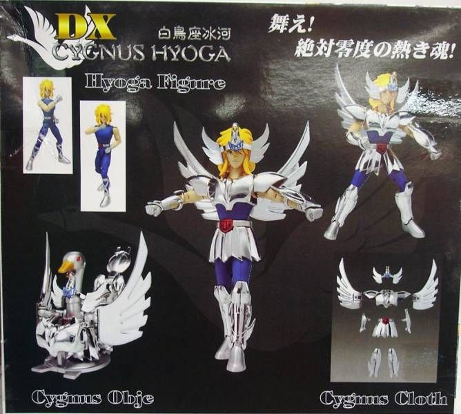 Saint Seiya - Action Saint DX - Cygnus Hyoga
