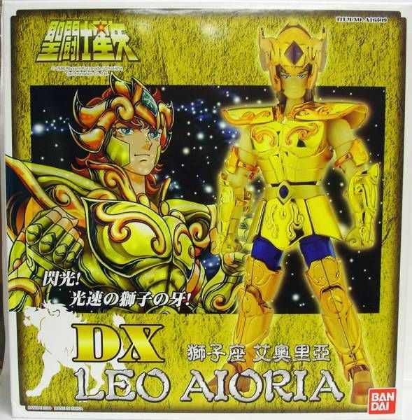 Saint Seiya - Action Saint DX - Leo Aiolia