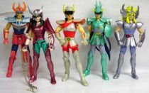 Saint Seiya - Action Saints - Set of 5 Bronze Saints (loose)
