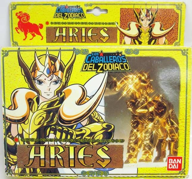 Saint Seiya - Aries Gold Saint - Mu (Bandai Spain)
