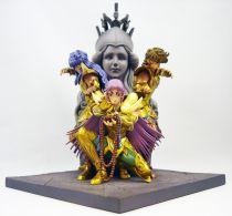 """Saint Seiya - Bandai - coldcast resin statue - \""""Athena Exclamation Attack\"""""""