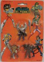 Saint Seiya - Bandai Espagne - Micro figurines - Ikki, Io et Sigfried