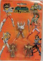 Saint Seiya - Bandai Spain - Micro figures - Seiya, Biann & Poseidon