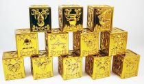 Saint Seiya - DrBandai - Set of 12 Gold Saints Pandora Boxes (loose)