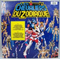 Les Chevaliers du Zodiaque - Disque 33T - Bande Originale du feuilleton Tv - Disques PolyGram AB Kid 1988 02