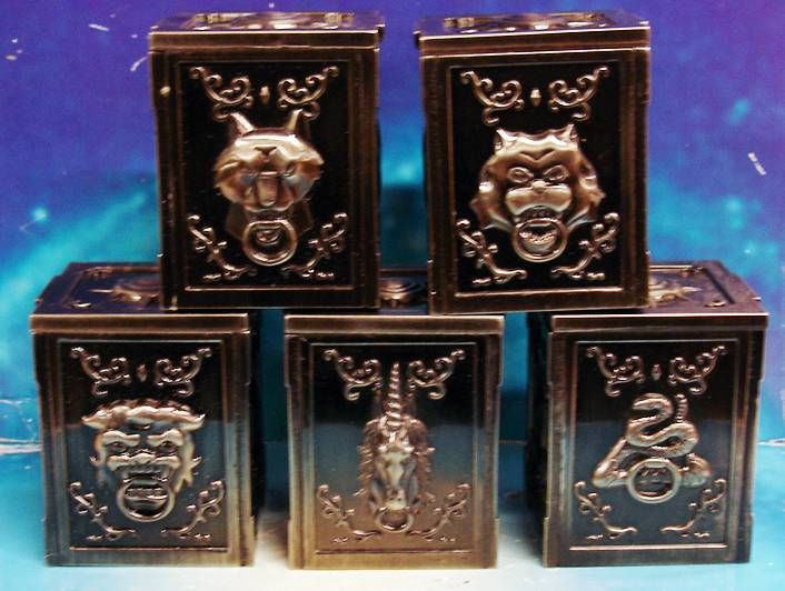 Saint Seiya - Pandora Box Dream - Bronze Saints Unicorn, Bear, Lionet, Hydra, Wolf