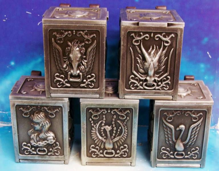 Saint Seiya - Pandora Box Perfect Version - Bronze Saints Pegasus, Dragon, Cygnus, Andromeda, Phoenix