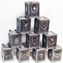 Saint Seiya - Pandora Box Perfect Version - Set of 10 Bronze Saints Pandora Boxes
