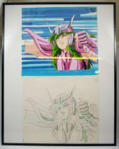 Saint Seiya - Toei Animation Original Celluloid - Andromeda Shun