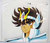 Saint Seiya - Toei Animation Original Celluloid - Pegasus Seiya (2nd cloth)