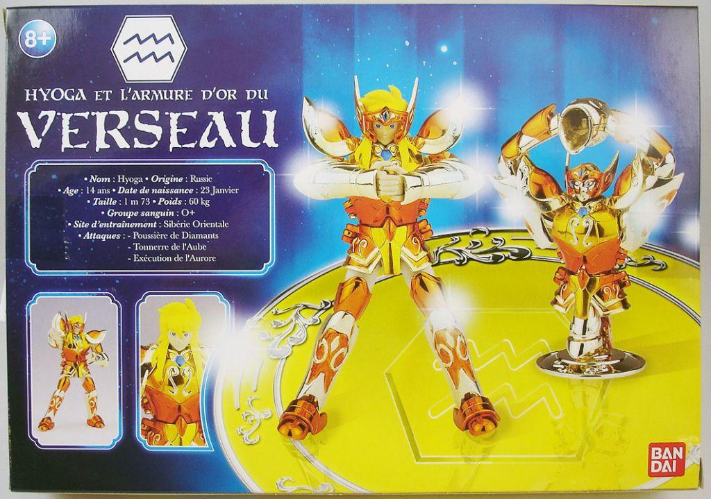Saint Seiya (Bandai France) - Aquarius Gold Saint - Hyoga