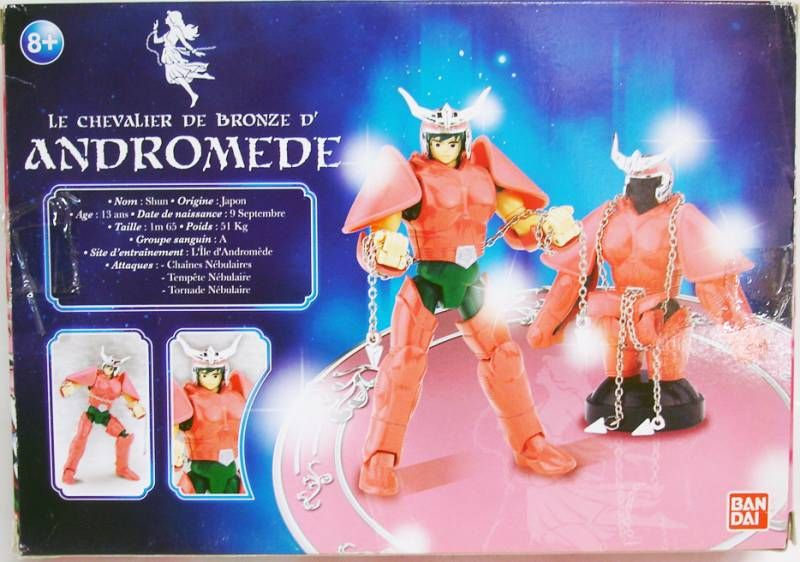 Saint Seiya (Bandai HK) - Andromeda Bronze Saint - Shun (French box)