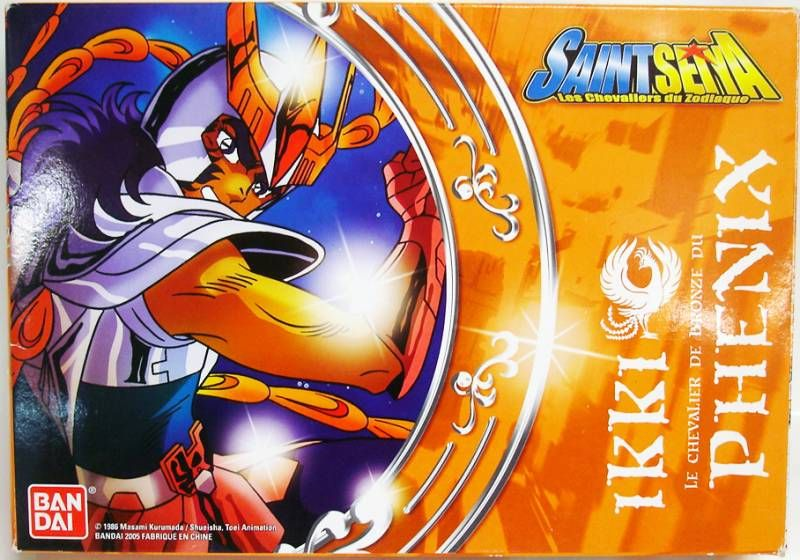 Saint Seiya (Bandai HK) - Phoenix Bronze Saint - Ikki (French box)