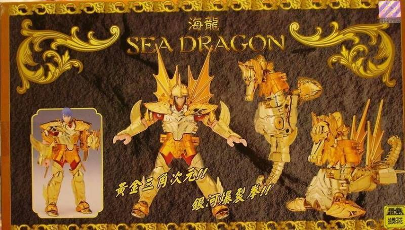 Saint Seiya (Bandai HK) - Sea Dragon Mariner - Kanon
