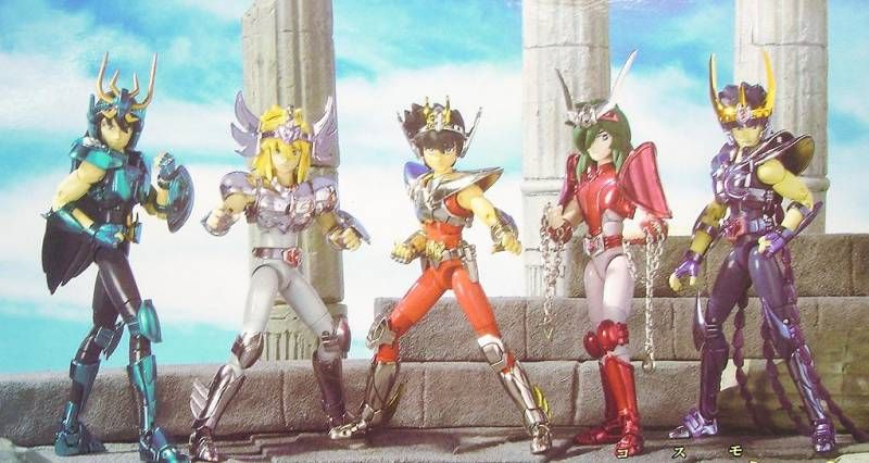 Saint Seiya Myth Cloth -  Renewal Colors Bronze set \'\'version 2\'\'