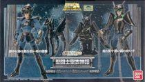 Saint Seiya Myth Cloth - Black Pegasus & Black Andromeda