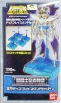Saint Seiya Myth Cloth - Clear blue display stands (5 pieces)