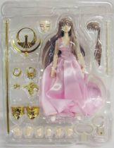 Saint Seiya Myth Cloth - Pegasus Seiya \'\'version 2 - Broken\'\' & Saori Kido Athena (Orignal Color Edition)