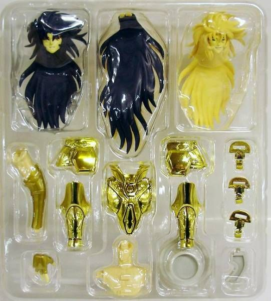Saint Seiya Myth Cloth Appendix - Gemini Saga & Gemini Kanon - Original Color Edition