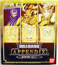 Saint Seiya Myth Cloth Appendix - Gold Cloth Box Vol.1