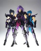 Saint Seiya Myth Cloth EX - Broken Surplice Set : Gemini, Aquarius, Capricorn
