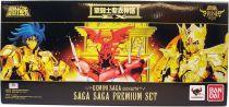 """Saint Seiya Soul of Gold Myth Cloth EX - Gemini Saga (Premium Set \""""Saga Saga\"""")"""