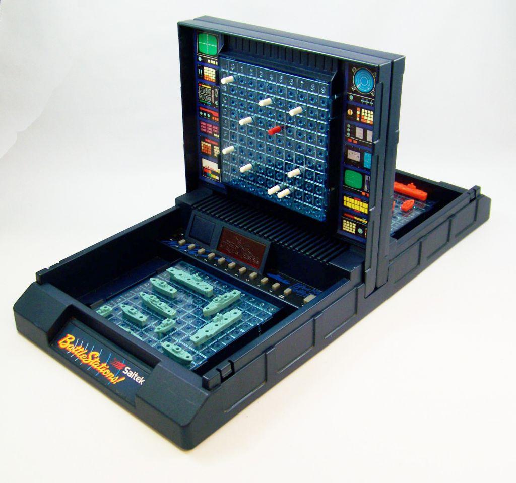 saitek sea battle bataille navale electronic game. Black Bedroom Furniture Sets. Home Design Ideas