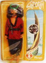 Sandokan - 12\'\' Action figure - Sandokan - Furga 1976