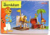 Sandokan - Star Toys Accessories &  PVC figures set