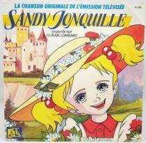 Sandy Jonquille - Disque 45Tours - Bande Originale Série Tv - Disques Ades 1988