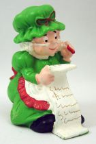 Santa and friends - Schleich PVC Figure - Mrs. Santa with wish list