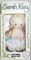 Sarah Kay - Mint in box 5\'\' mini stuffed doll (white dress)