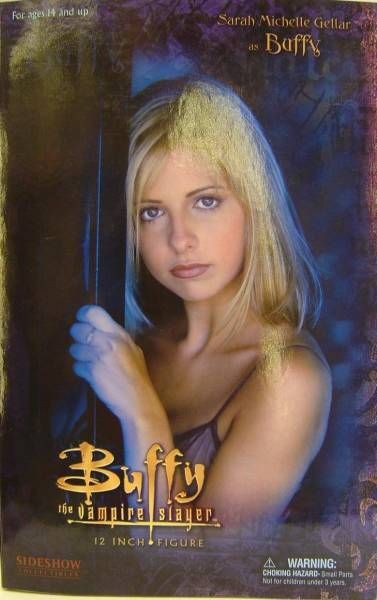 Sarah Michelle Gellar as Buffy  Sideshow Toys 12 inches doll (mint in box)